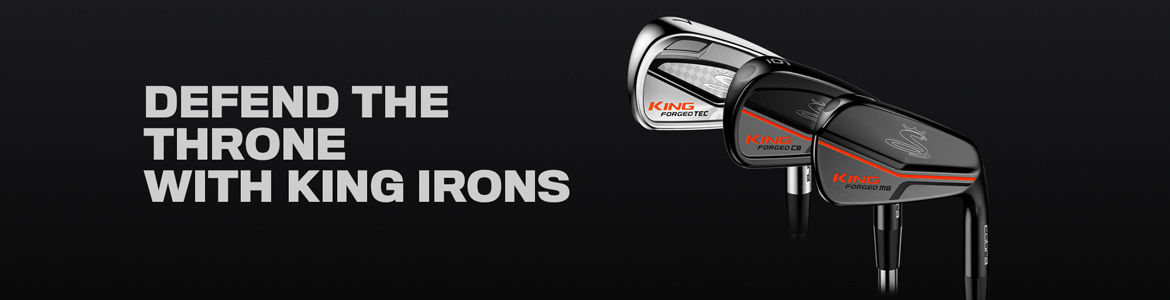Cobra KING Golf Club Irons Defend the Throne with King Irons