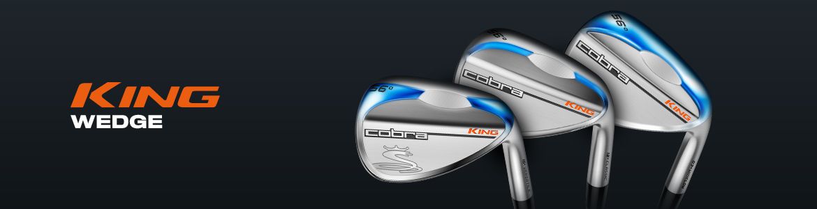 Cobra KING Golf Wedge - Versatile - Classic - Widelow - Embrace The Grind
